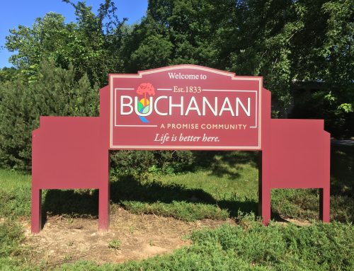 Buchanan, A Promise Community Signs!